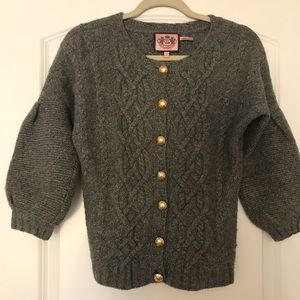 Juicy Couture wool & cashmere sweater